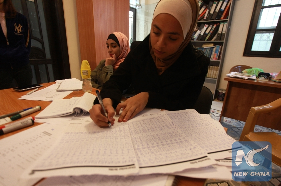 Feature: Young Palestinians learn Chinese to boost ties