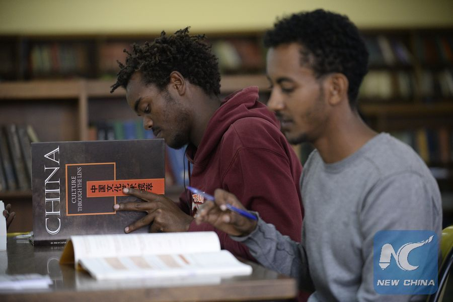 Ethiopian students embrace Chinese language studies to further professional career