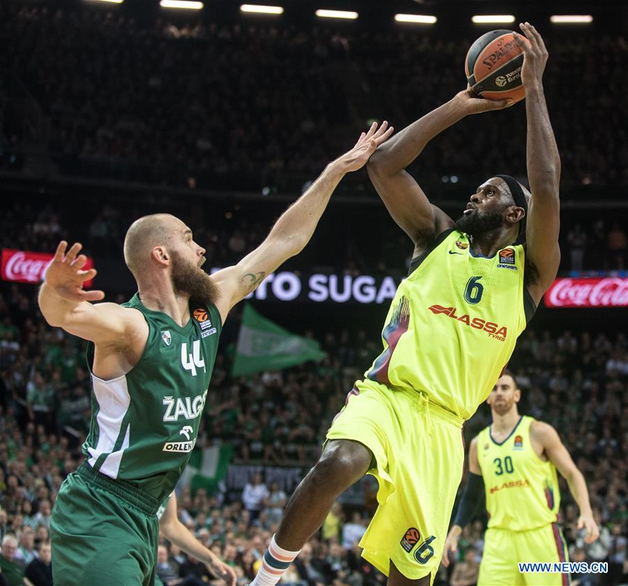 fc barcelona lassa beats zalgiris kaunas 88 85 in euroleague basketball tournament xinhua english news cn www xinhuanet com