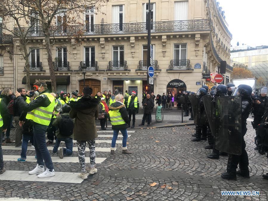 FRANCE-PARIS-YELLOW VEST PROTESTS