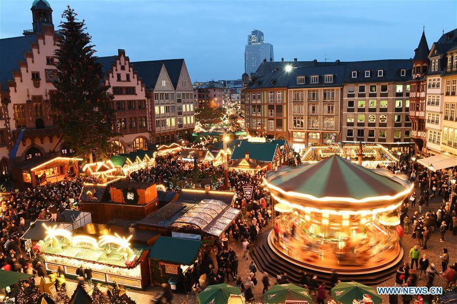 GERMANY-FRANKFURT-CHRISTMAS MARKET