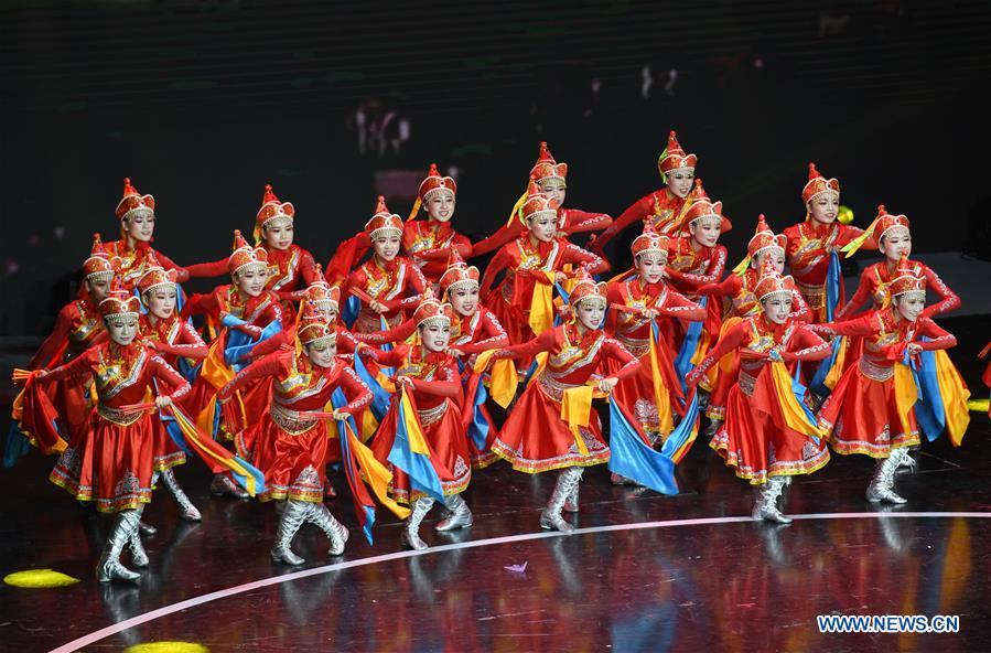 中国东南部福建省第二届省广场舞比赛的亮点