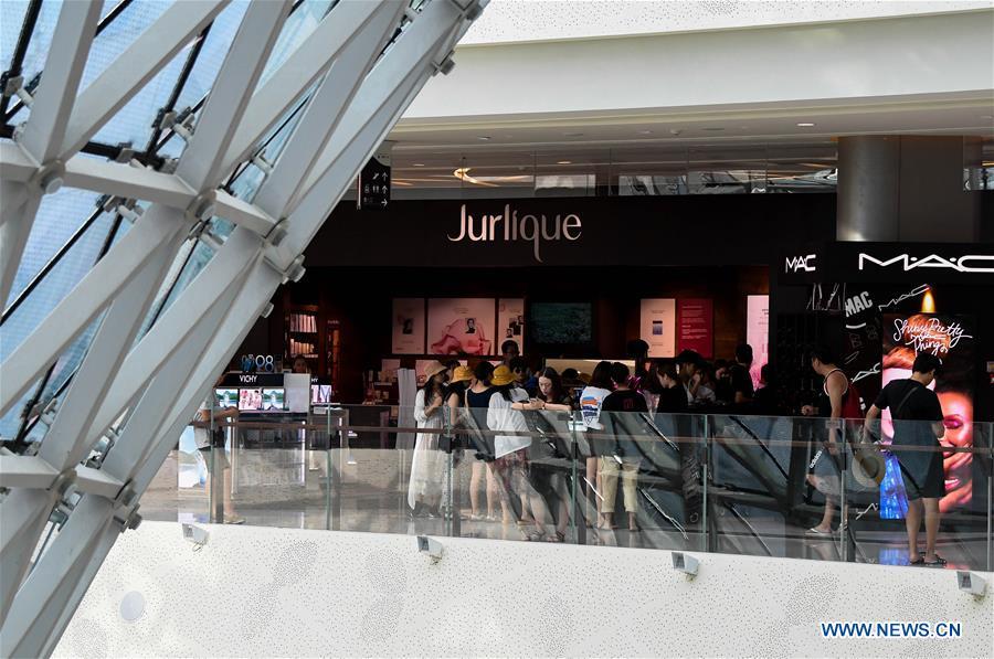 中国海南的年度免税购物配额提高到3万元