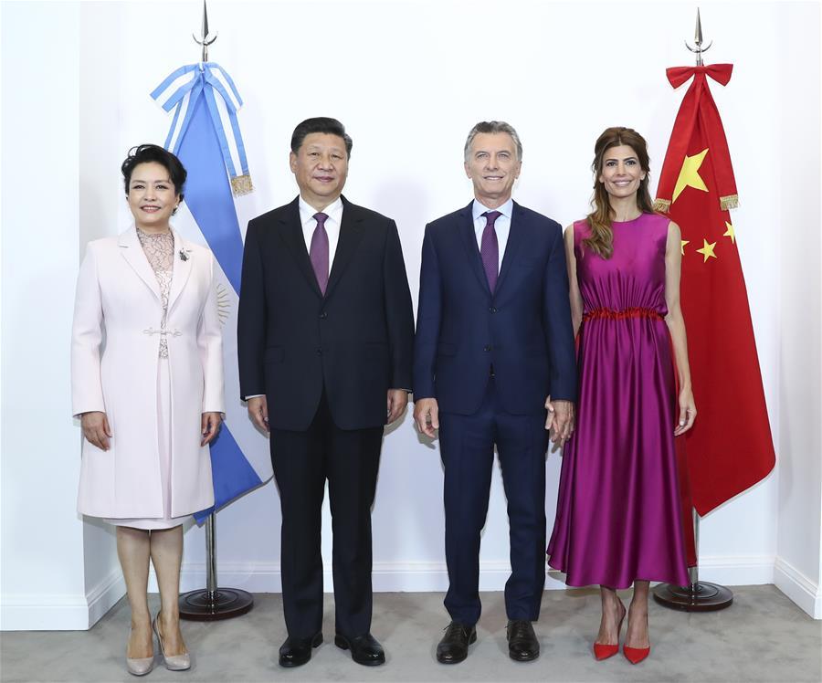 ARGENTINA-BUENOS AIRES-XI JINPING-MACRI-MEETING