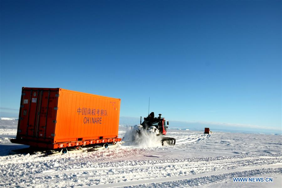 fea9344e6dc China's icebreaker carries out unloading operations in Antarctica ...