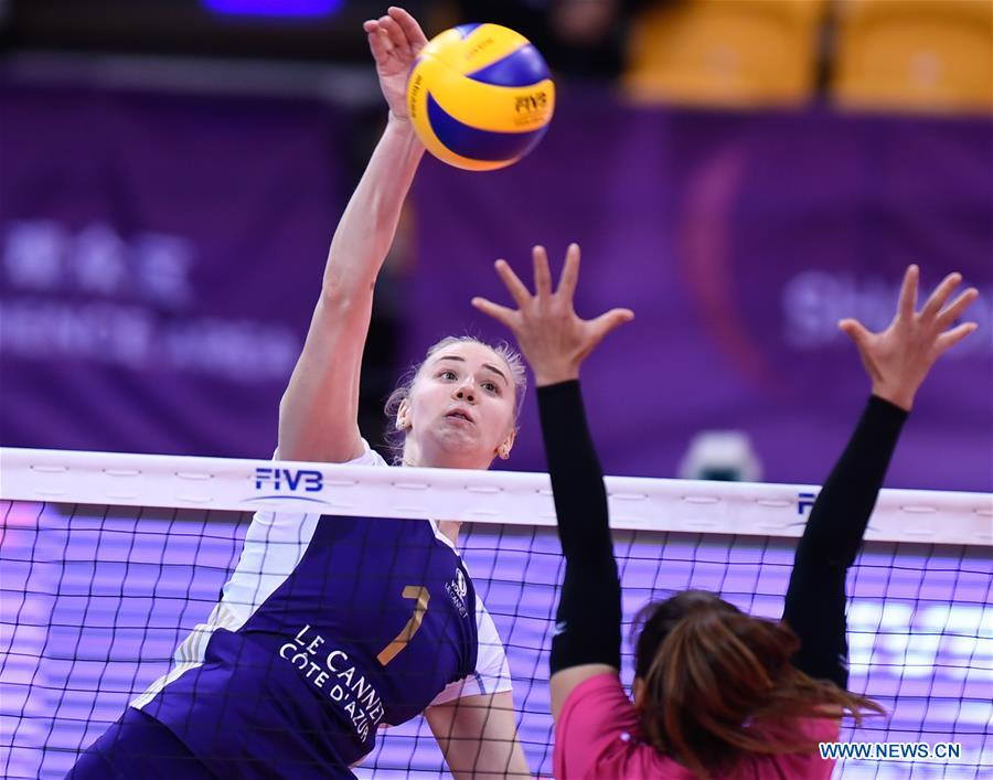 (SP)CHINA-SHAOXING-VOLLEYBALL-FIVB-WUBEN'S CLUB WORLD CHAMPIONSHIP