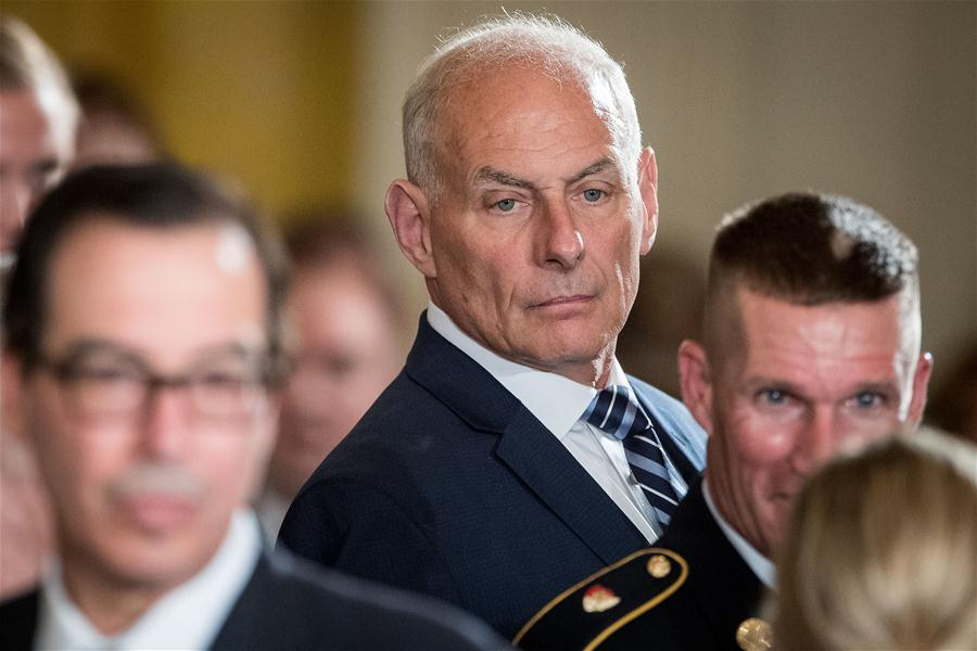 FILE-US-WASHINGTON DC-WHITE HOUSE-STAFF-JOHN KELLY-LEAVING