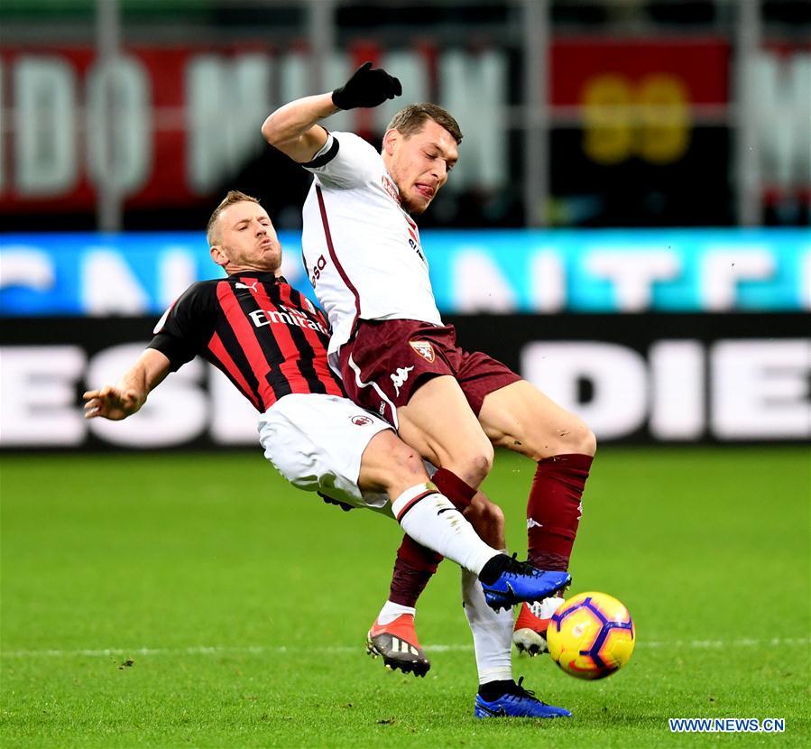 (SP)ITALY-MILAN-SERIE A-AC MILAN VS TORINO