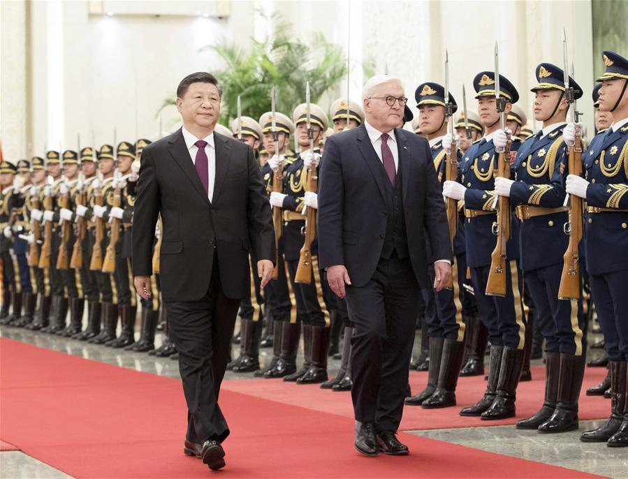 CHINA-BEIJING-XI JINPING-GERMAN PRESIDENT-TALKS (CN)