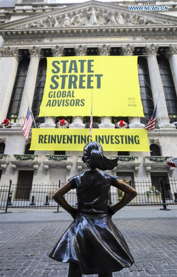 U.S.-NEW YORK-FEARLESS GIRL-RELOCATION