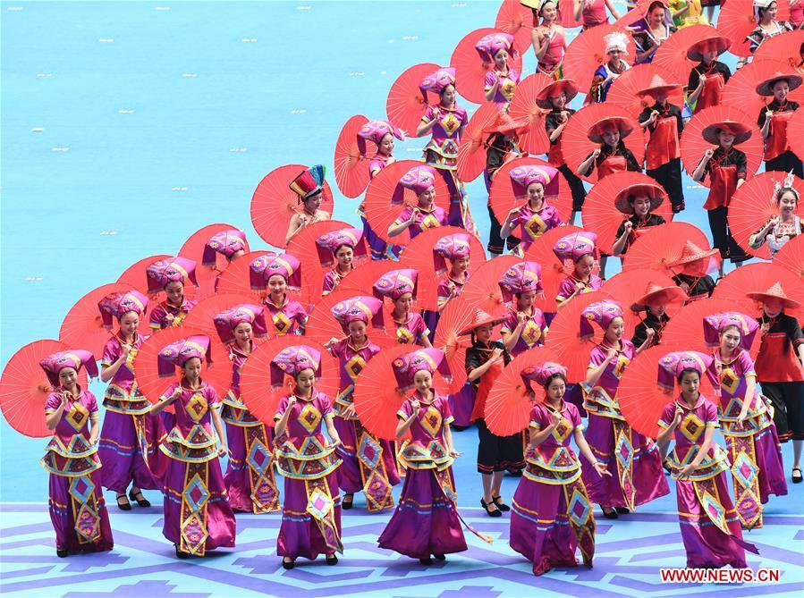 CHINA-GUANGXI-60TH ANNIVERSARY-CELEBRATION (CN)