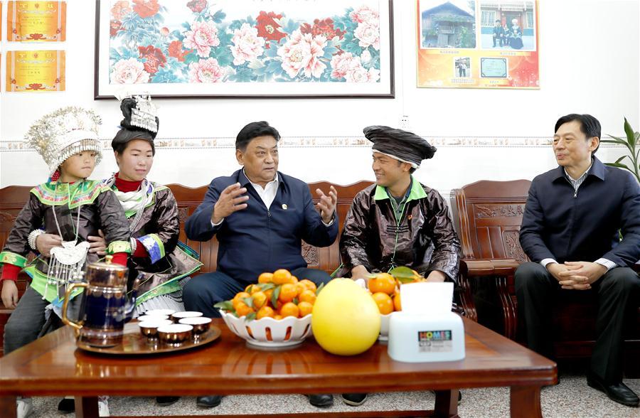 CHINA-GUANGXI-HECHI-PADMA CHOLING-VISIT (CN)