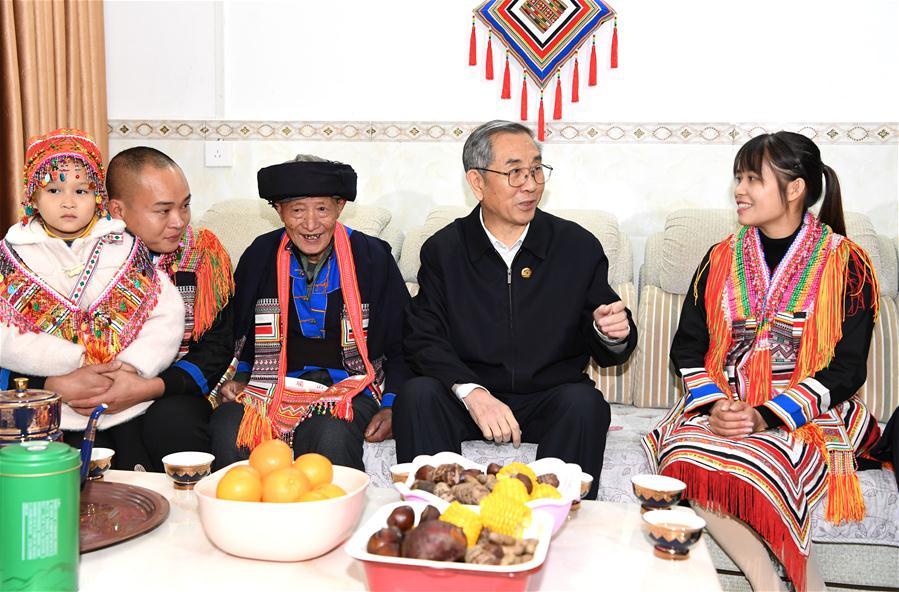 CHINA-GUANGXI-HEZHOU-MA BIAO-VISIT (CN)