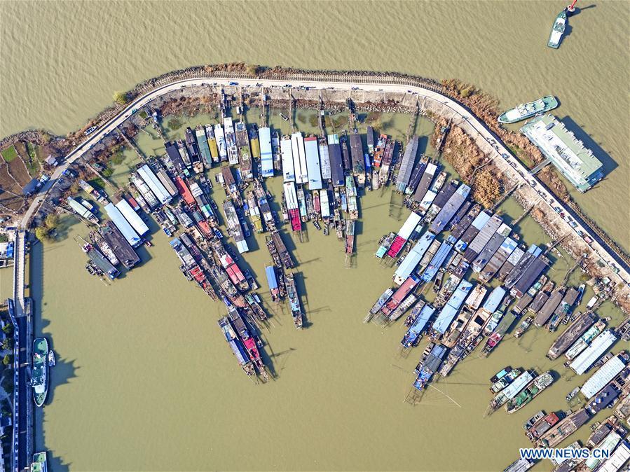 #CHINA-JIANGSU-HONGZE LAKE-SCENERY (CN)