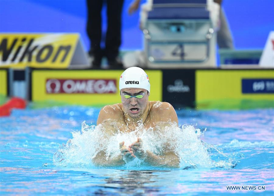 (SP)CHINA-HANGZHOU-SWIMMING-FINA-WORLD CHAMPIONSHIPS 25M-DAY 4(CN)