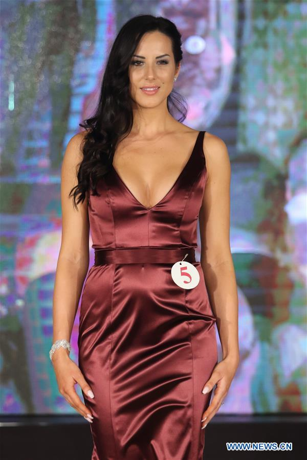 HUNGARY-BUDAPEST-MISS HUNGARY BEAUTY CONTEST