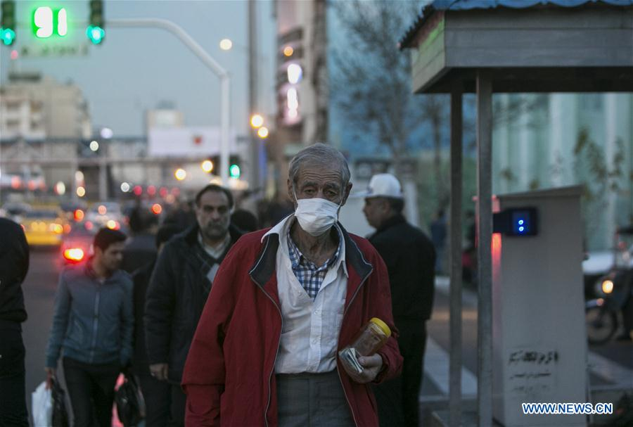 空气污染袭击伊朗德黑兰