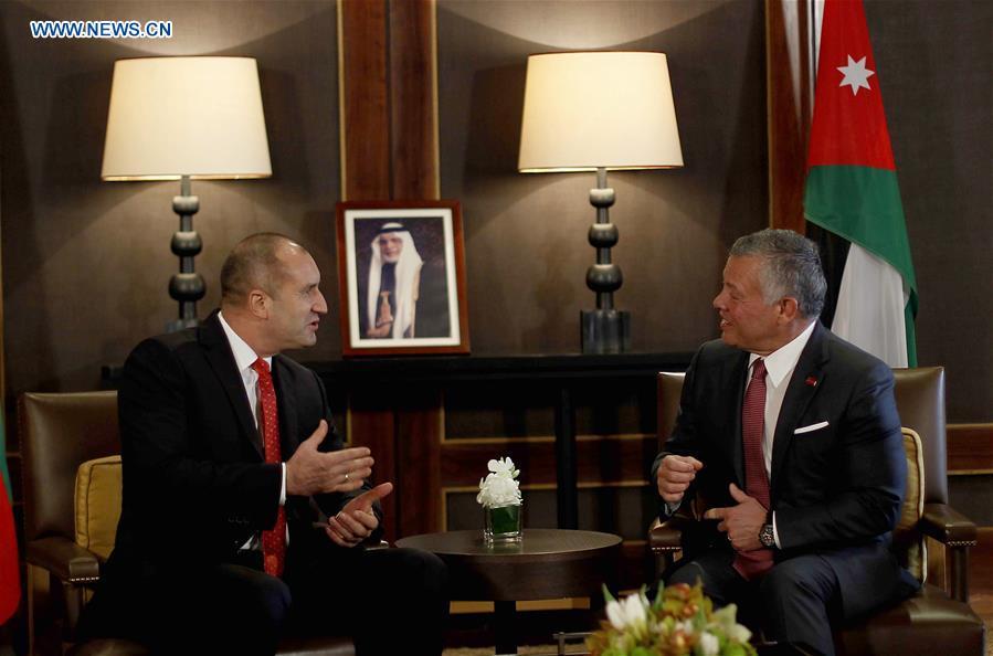 保加利亚总统对约旦进行正式访问
