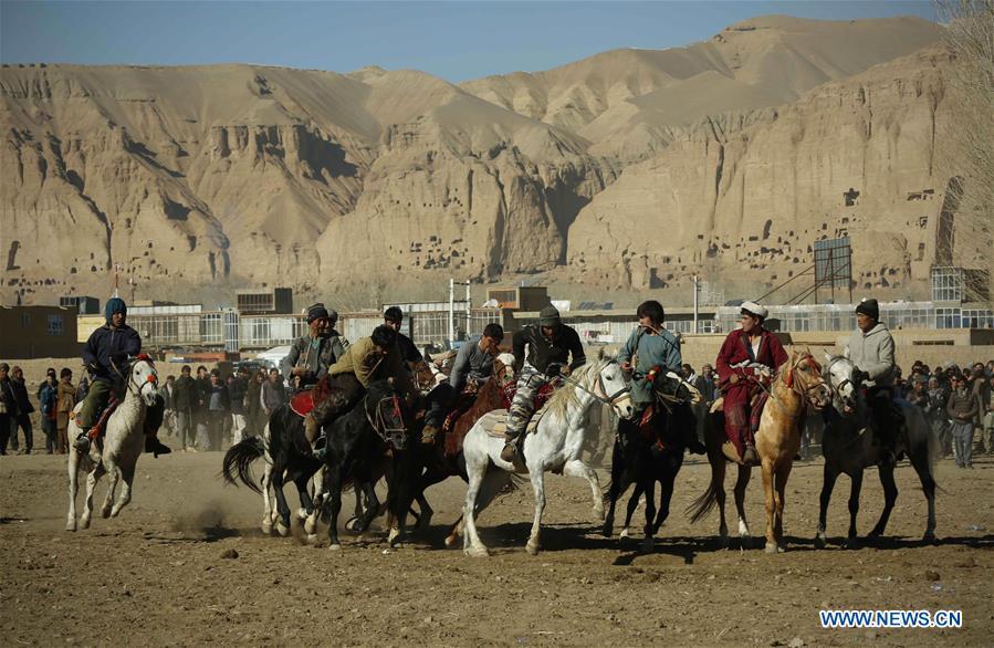 阿富汗 - 巴米扬,布兹卡兹