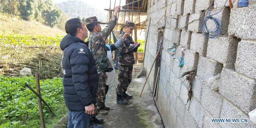 四川地震灾区救援工作正在进行中