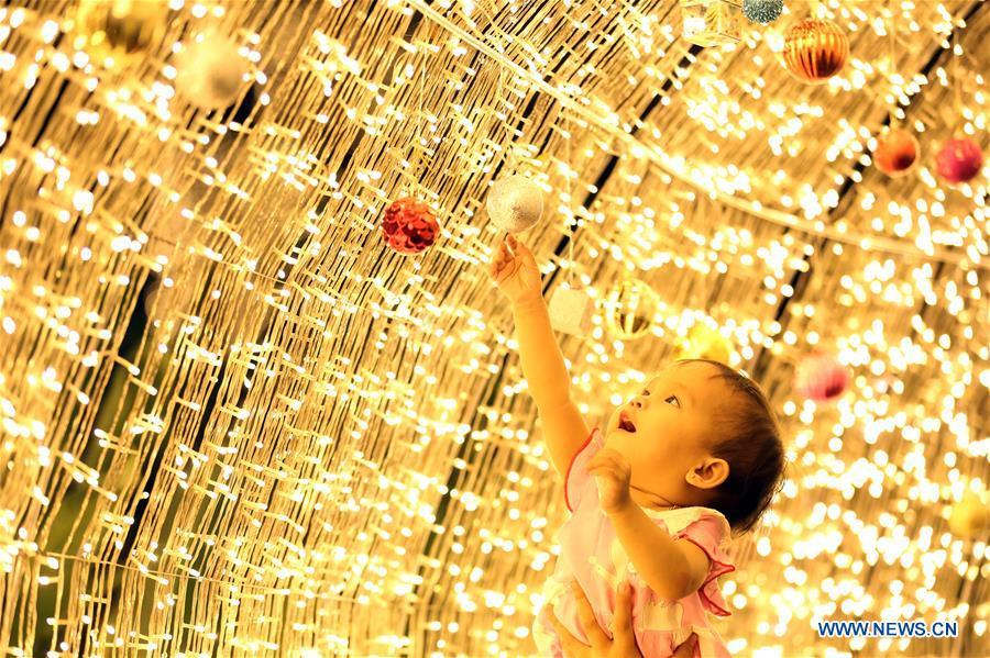 缅甸 - 仰光 - 圣诞节装饰品