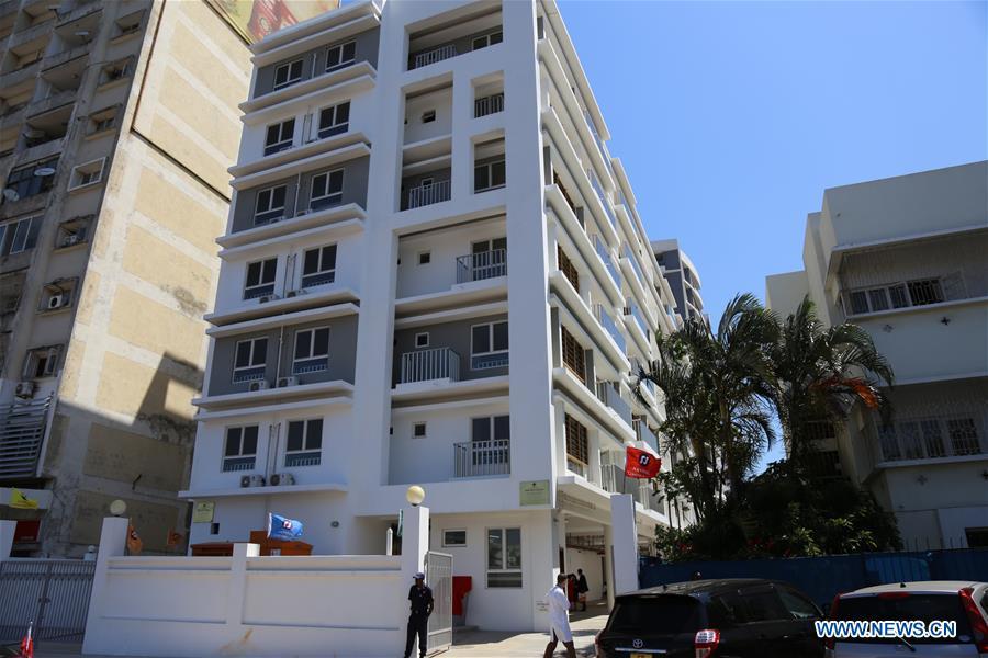 中国赞助的医生宿舍项目在莫桑比克落成