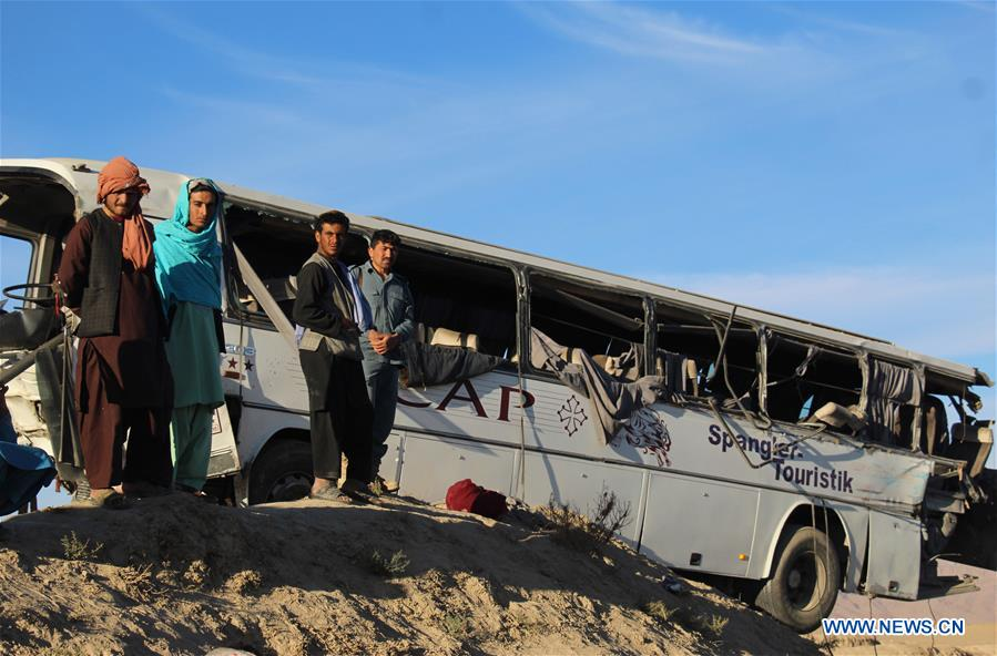 阿富汗 - 坎达哈尔 - 道路事故