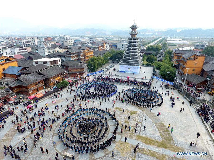 #CHINA-GUIZHOU-DONG PEOPLE-SAMA FESTIVAL(CN)