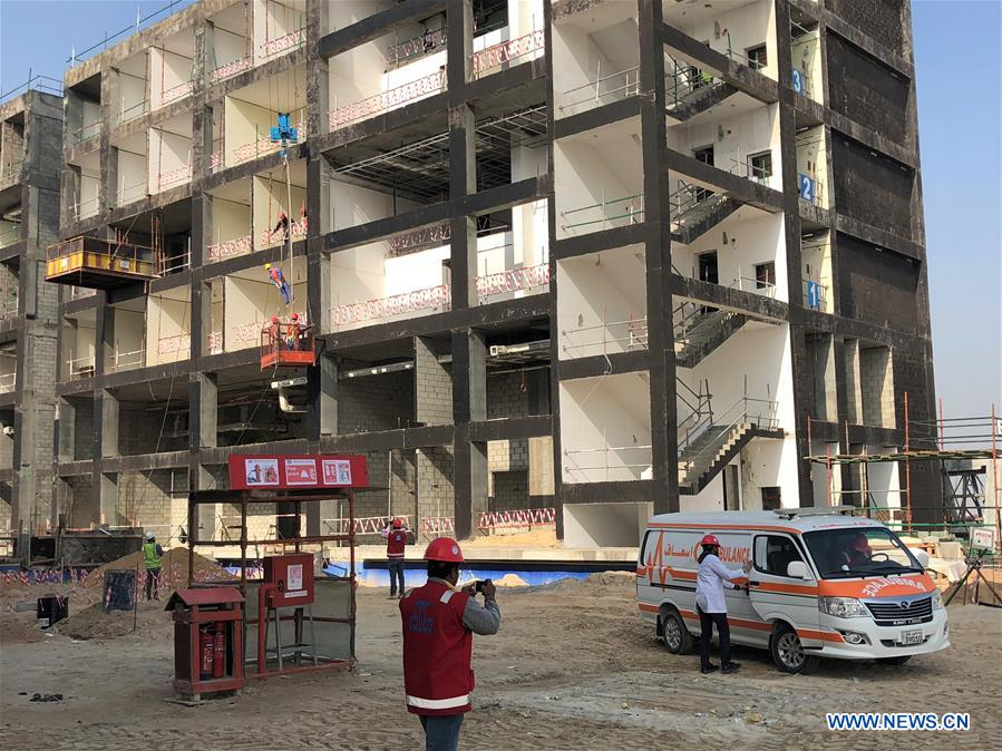 Chinese construction company ends security education week in Kuwait
