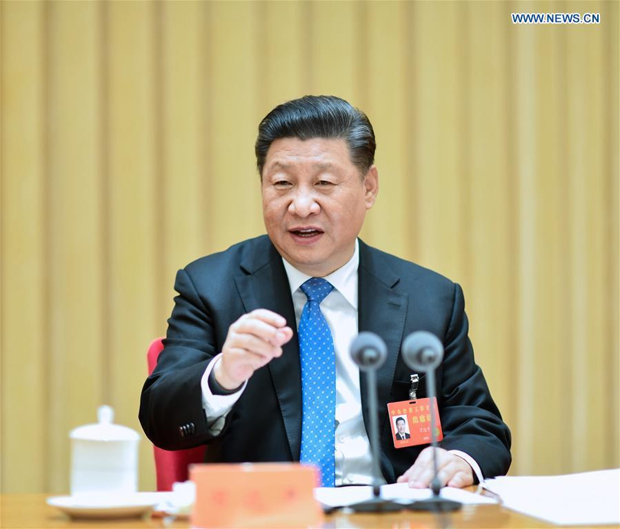 CHINA-BEIJING-XI JINPING-ECONOMY-MEETING (CN)