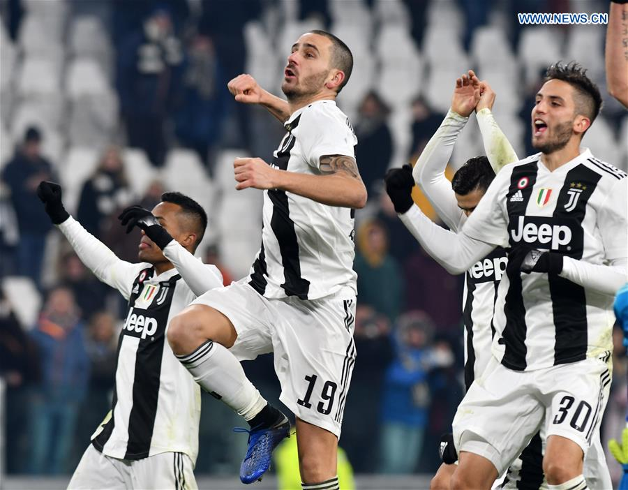 (SP)ITALY-TURIN-FOOTBALL-SERIE A-JUVENTUS VS ROMA
