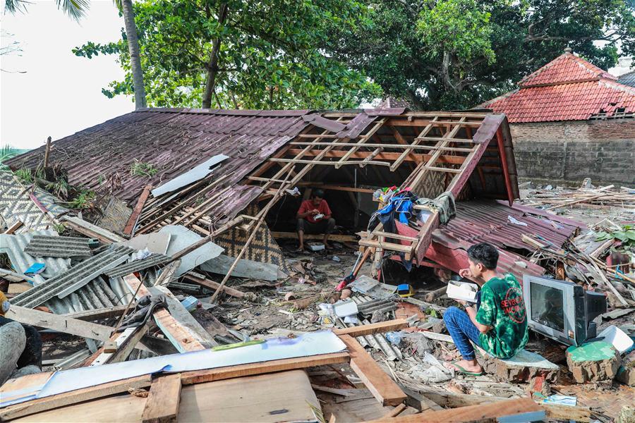 印尼万丹 - 海啸余波