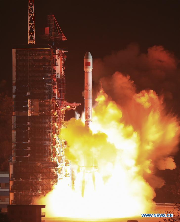 #CHINA-XICHANG-SATELLITE-LAUNCH (CN)