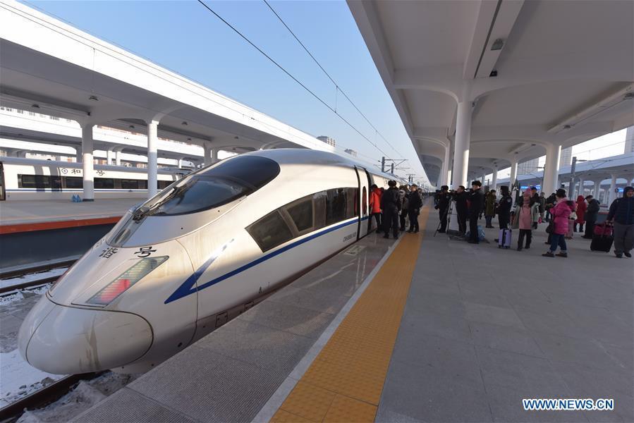 #CHINA-HARBIN-MUDANJIANG-HIGH-SPEED RAILWAY-LAUNCH (CN)