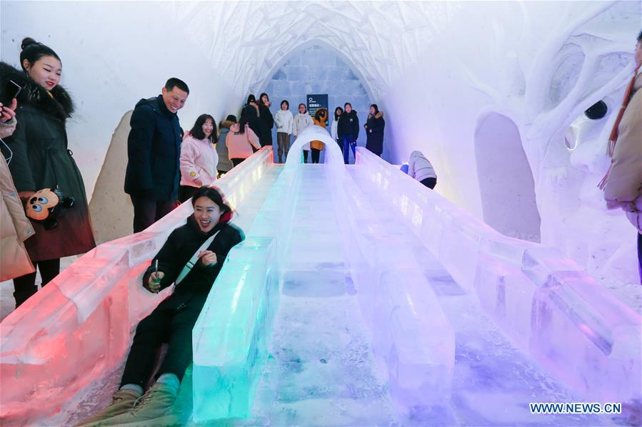 CHINA-INNER MONGOLIA-HULUN BUIR-ICE AND SNOW HOTEL (CN)