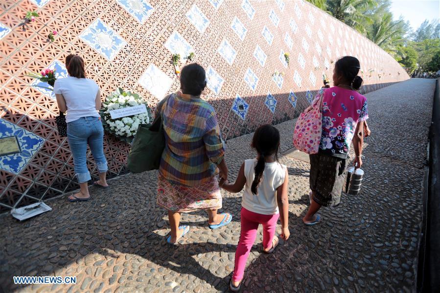 Thailand marks 14th anniv  of 2004 Indian Ocean tsunami