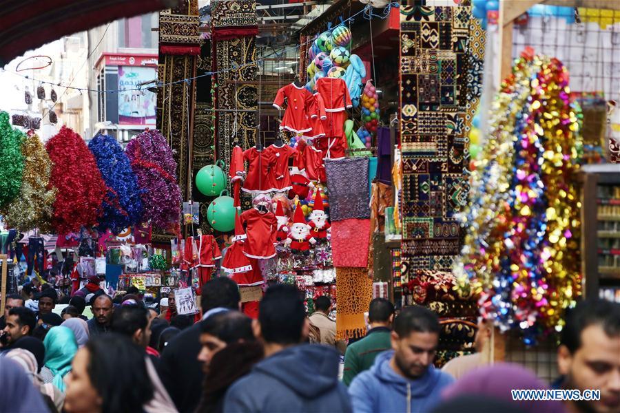 埃及开罗 - 圣诞市场
