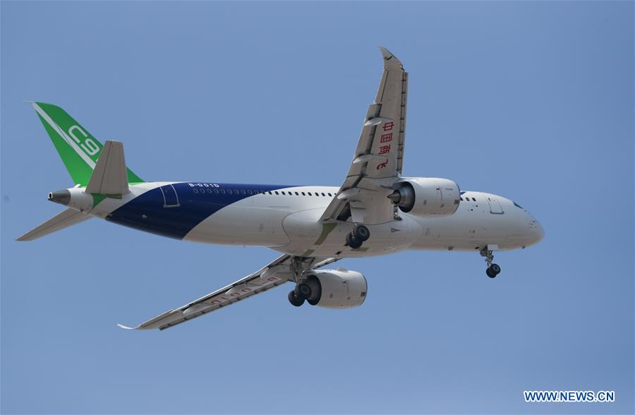 CHINA-SHANGHAI-THIRD C919-MAIDEN TEST FLIGHT (CN)