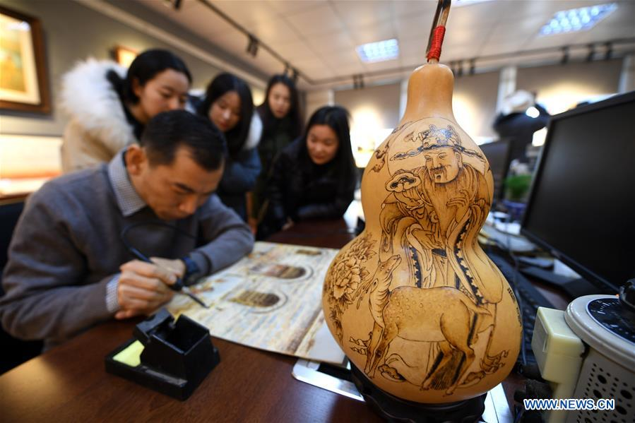 CHINA-HEBEI-SHIJIAZHUANG-EDUCATION-INTANGIBLE CULTURAL HERITAGE (CN)