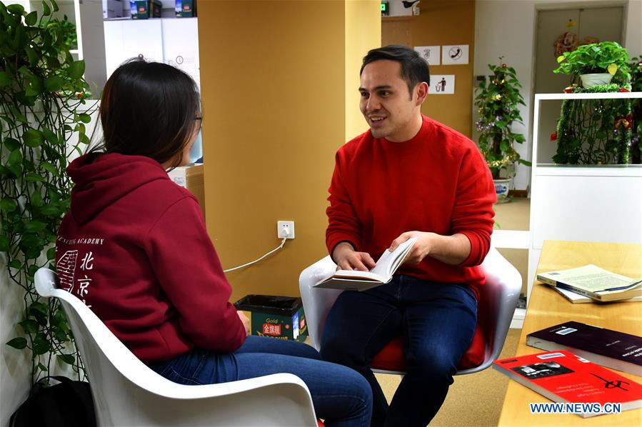 In pics: Mexican student's life in Beijing - Xinhua | English news cn