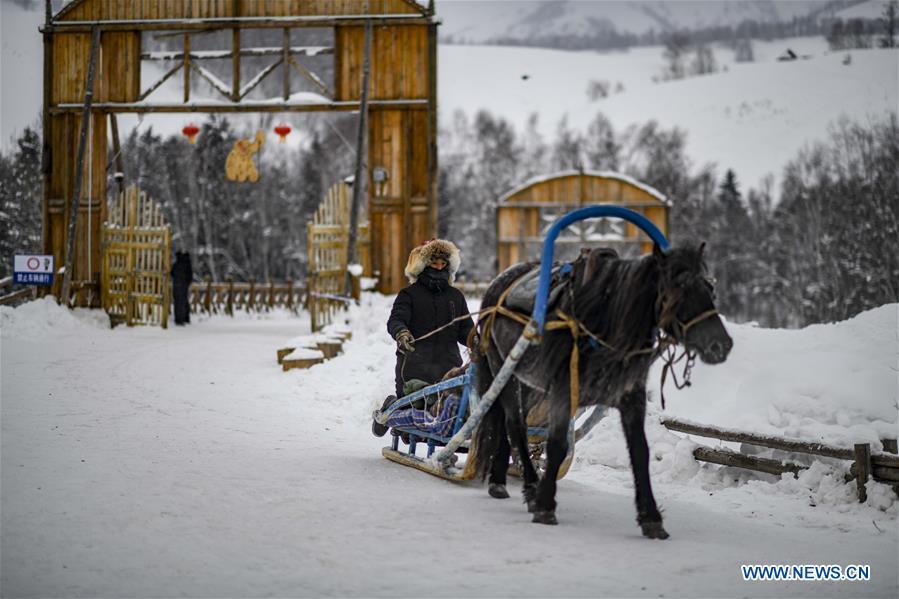 CHINA-XINJIANG-KANAS-ICE AND SNOW FESTIVAL (CN)