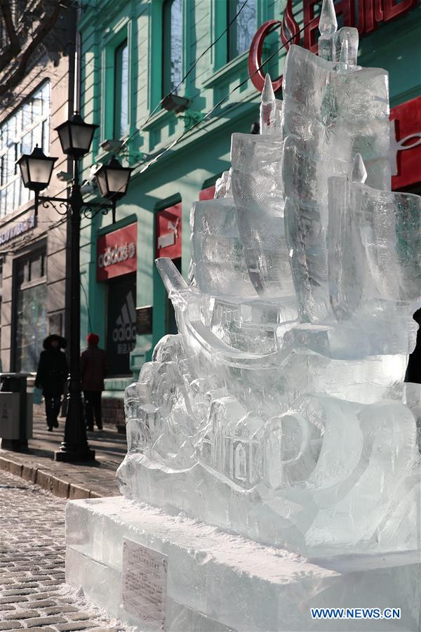 CHINA-HARBIN-ICE SCULPTURE-COMPETITION (CN)