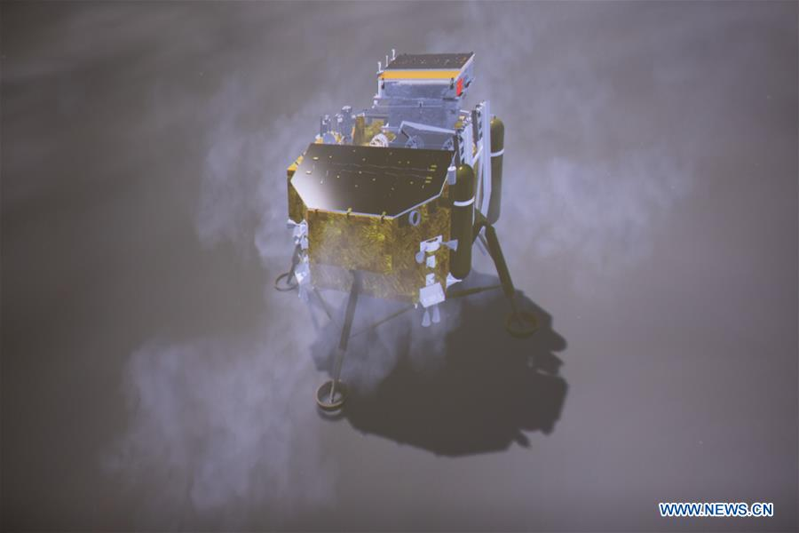 CHINA-CHANG'E-LUNAR PROBE-MOON-LANDING (CN)