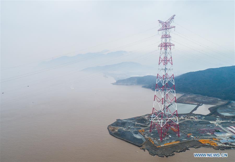 中国 - 浙江 - 世界最高功率的电缆建设(CN)