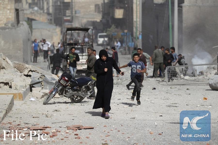 led coalition kills 11 in fresh airstrikes in eastern Syria