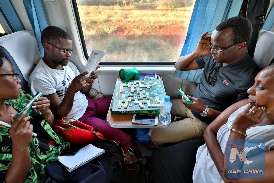 More Kenyan train passengers in festive season amid improved service: operator