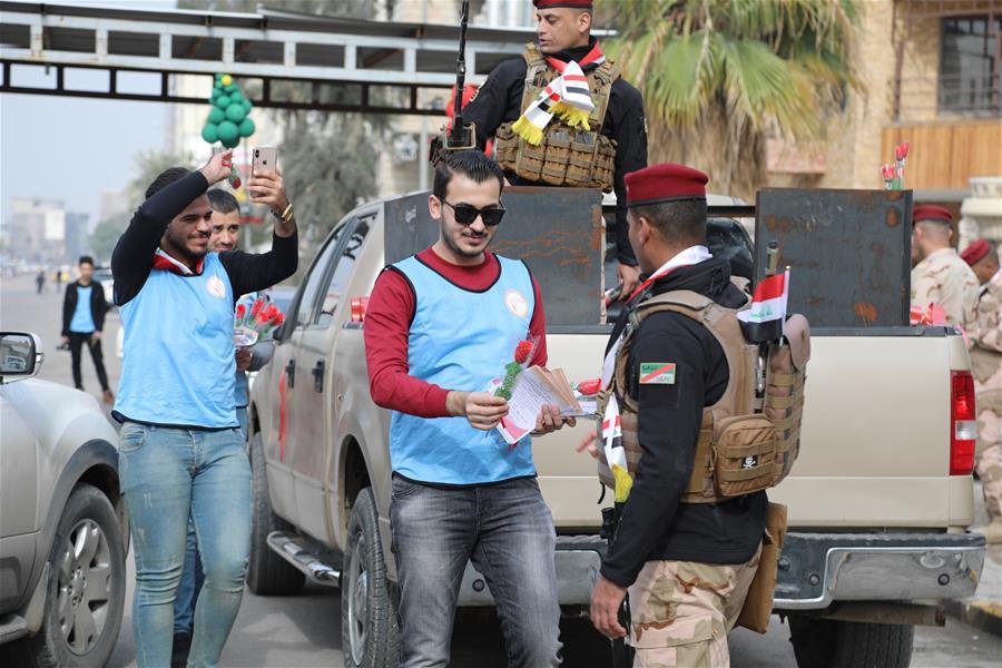 Iraq Baghdad Army Day