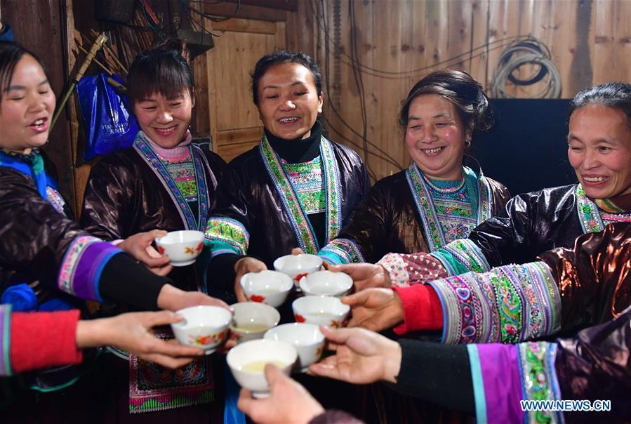 CHINA-GUANGXI-LIUZHOU-MIAO PEOPLE-NEW YEAR (CN)