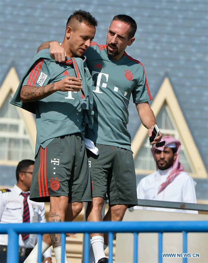 (SP)QATAR-DOHA-BAYERN MUNICH-TRAINING