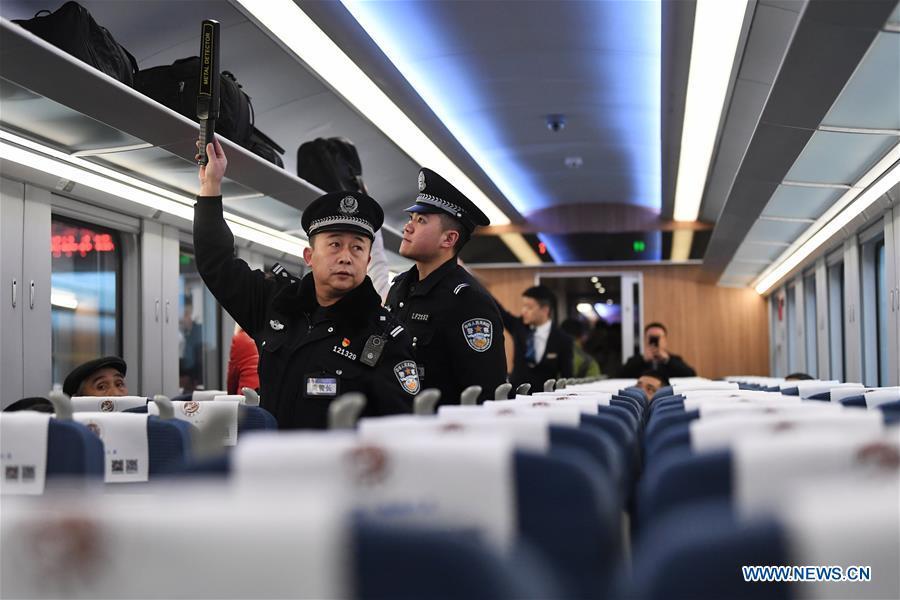 CHINA-LANZHOU-CHONGQING RAILWAY-FUXING BULLET TRAIN (CN)
